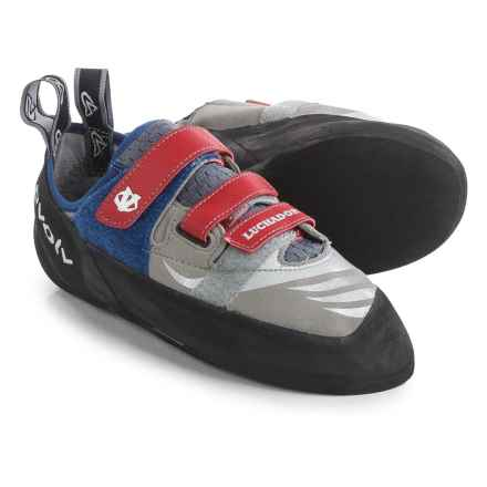 Evolv Luchador SC Climbing Shoes (For Men and Women) in Grey - Closeouts