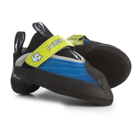 Evolv Nexxo Climbing Shoes (For Big Kids) in Blue/Green