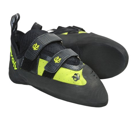 Evolv Predator G2 Climbing Shoes (For Men and Women) in Lime Green