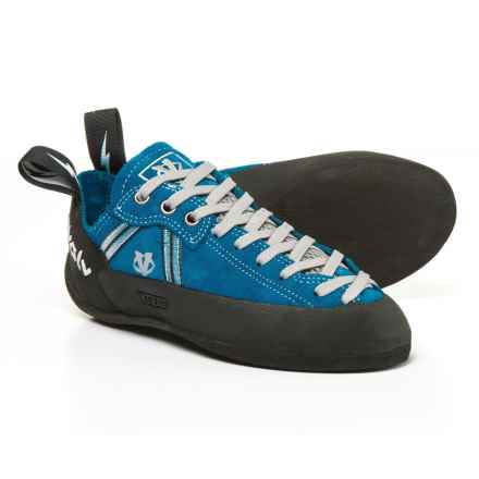 Evolv Royal Lace Climbing Shoes - Suede (For Big Kids) in Royal Blue - Closeouts