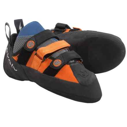 Evolv Shaman Climbing Shoes (For Men and Women) in Orange/Blue - Closeouts