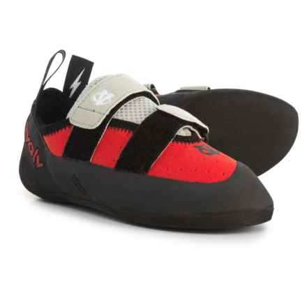 Evolv Valor Climbing Shoes (For Big Kids) in Red/Black - Closeouts