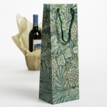 Evolve Masterpiece Wine Bottle Gift Bag in Green Grapes - Closeouts