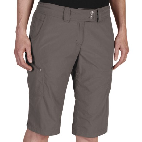 Ex Officio Nomad Dig-Her Shorts (For Women) in Slate