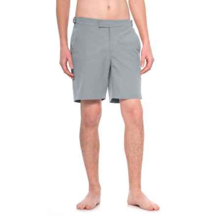 Exley Bristol Swim Shorts (For Men) in Grey - Closeouts