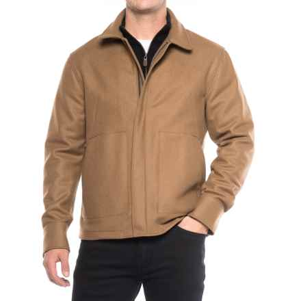 Exley Driver Four-Pocket Jacket - Wool-Cashmere (For Men) in Dull Rust - Closeouts