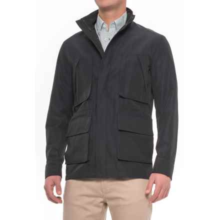 Exley Field Four Front Pocket Jacket (For Men) in Deep Atlantic - Closeouts