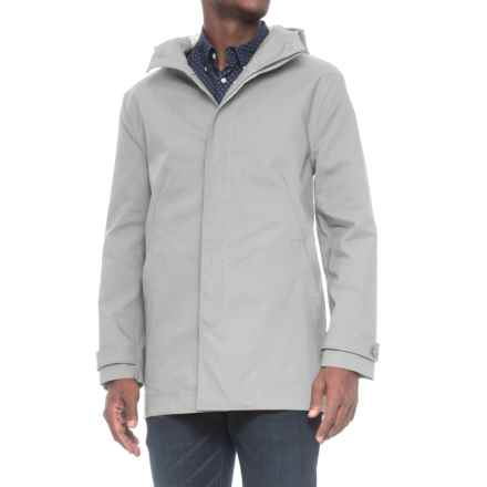 Exley Hooded Rain Jacket - Waterproof (For Men) in Bay - Closeouts