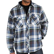 ExOfficio's Pocatello Plaid Shirt Jacket (For Men) in Ensign - Closeouts