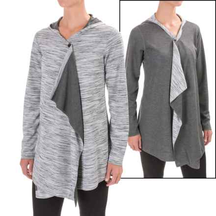 ExOfficio Adana Reversible Hood Wrap (For Women) in Black/Slate/White - Closeouts