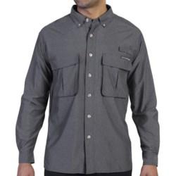 ExOfficio Air Strip Lite Shirt - UPF 30+, Long Sleeve (For Men) in Bright Sun