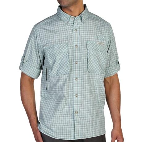ExOfficio Air Strip Micro Plaid Shirt UPF 30+, Long Sleeve (For Men)
