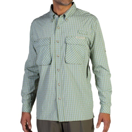 photo: ExOfficio Air Strip Lite Micro Plaid Long-Sleeve Shirt