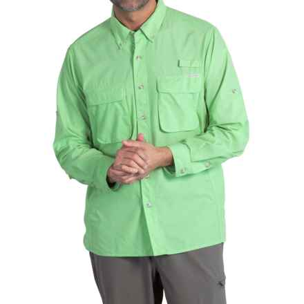 ExOfficio Air Strip Shirt - UPF 30+, Long Sleeve (For Men) in Beachglass - Closeouts