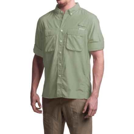 ExOfficio Air Strip Shirt - UPF 30+, Long Sleeve (For Men) in Desert Sage - Closeouts
