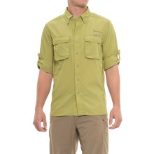 ExOfficio Air Strip Shirt - UPF 30+, Long Sleeve (For Men) in Pistachio - Closeouts