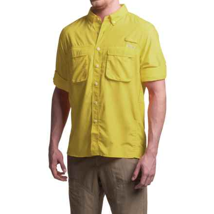 ExOfficio Air Strip Shirt - UPF 30+, Long Sleeve (For Men) in Zest - Closeouts
