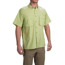 ExOfficio Air Strip Shirt - UPF 40+, Short Sleeve (For Men) in Light Aloe - Closeouts