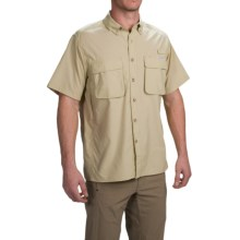 ExOfficio Air Strip Shirt - UPF 40+, Short Sleeve (For Men) in Sand - Closeouts