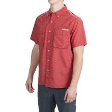 ExOfficio Air Strip Shirt - UPF 40+, Short Sleeve (For Men) in Watermelon - Closeouts