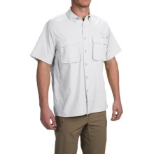 ExOfficio Air Strip Shirt - UPF 40+, Short Sleeve (For Men) in White - Closeouts