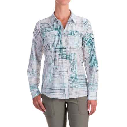 ExOfficio Airhart Shirt - UPF 50+, Long Sleeve (For Women) in Dragonfly - Closeouts