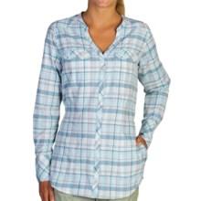 ExOfficio Airhart Shirt - UPF 50+, Long Sleeve (For Women) in Tropez - Closeouts