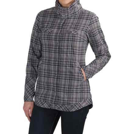 ExOfficio Alba Shirt - Long Sleeve (For Women) in Dark Pebble - Closeouts