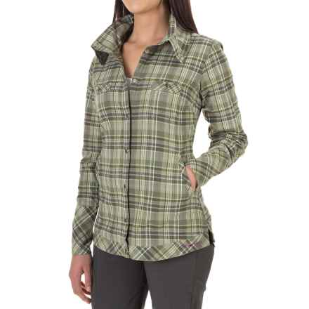 ExOfficio Alba Shirt - Long Sleeve (For Women) in Meadow - Closeouts