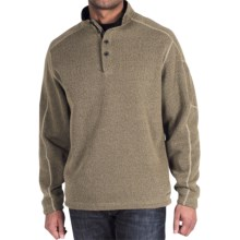 ExOfficio Alpental Fleece Pullover Shirt - Long Sleeve (For Men) in Khaki - Closeouts