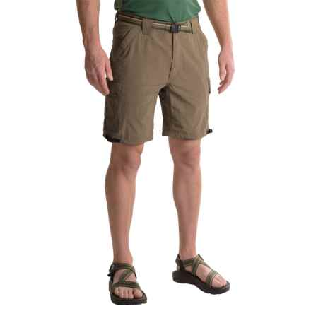 "ExOfficio Amphi 8.5"" Shorts - UPF 30+ (For Men) in Cigar - Closeouts"
