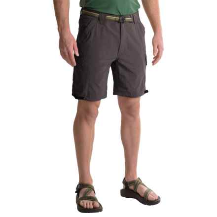 "ExOfficio Amphi 8.5"" Shorts - UPF 30+ (For Men) in Dark Charcoal - Closeouts"