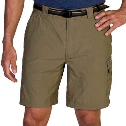 ExOfficio Amphi Shorts with Built-In Brief - UPF 30+ (For Men) in Walnut - Closeouts