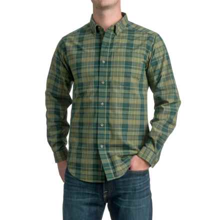 ExOfficio Arabica Plaid Shirt - UPF 15+, Long Sleeve (For Men) in Ponderosa - Closeouts