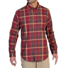 ExOfficio Arabica Plaid Shirt - UPF 15+, Long Sleeve (For Men) in Tango - Closeouts