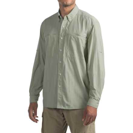 ExOfficio Atoll Shirt - UPF 30, Long Sleeve (For Men) in Desert Sage - Closeouts