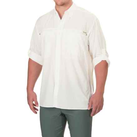 ExOfficio Atoll Shirt - UPF 30, Long Sleeve (For Men) in White - Closeouts