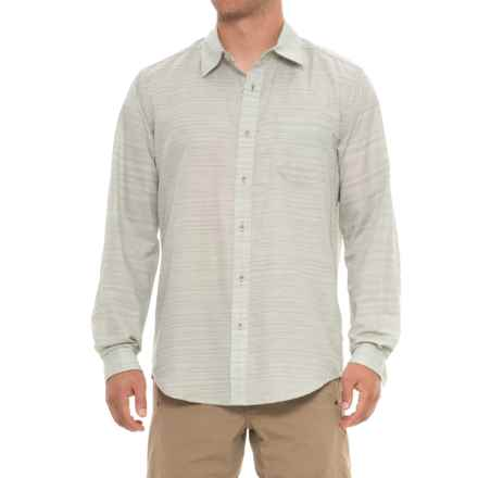 ExOfficio Avalon Shirt - Long Sleeve (For Men) in Sage Gray - Closeouts