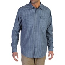 ExOfficio Boleto Plaid Shirt - Long Sleeve (For Men) in Galaxy - Closeouts