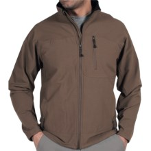 ExOfficio Boracade Jacket - Soft Shell (For Men) in Cigar - Closeouts