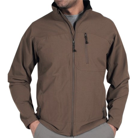 ExOfficio Boracade Jacket - Soft Shell (For Men) in Cigar