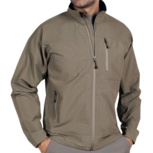 ExOfficio Boracade Jacket - Soft Shell (For Men) in Sage - Closeouts