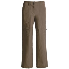 ExOfficio Boracade Pants (For Women) in Cigar - Closeouts