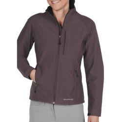 ExOfficio Boracade Soft Shell Jacket (For Women) in Black