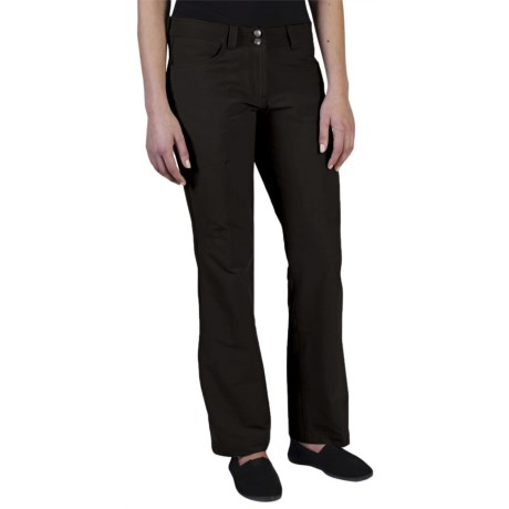 ExOfficio Boracade Stretch Pants - DWR (For Women) in Black