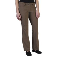 ExOfficio Boracade Stretch Pants - DWR (For Women) in Cigar - Closeouts