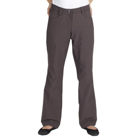 ExOfficio Boracade Stretch Pants - DWR (For Women) in Cigar