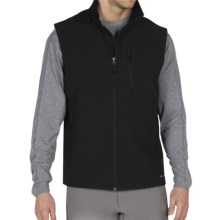 ExOfficio Boracade Vest - Soft Shell (For Men) in Black - Closeouts