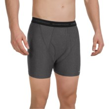 ExOfficio Boxer Briefs (For Men) in Charcoal Heather - Closeouts