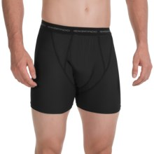 ExOfficio Boxer Briefs - Underwear (For Men) in Black - 2nds